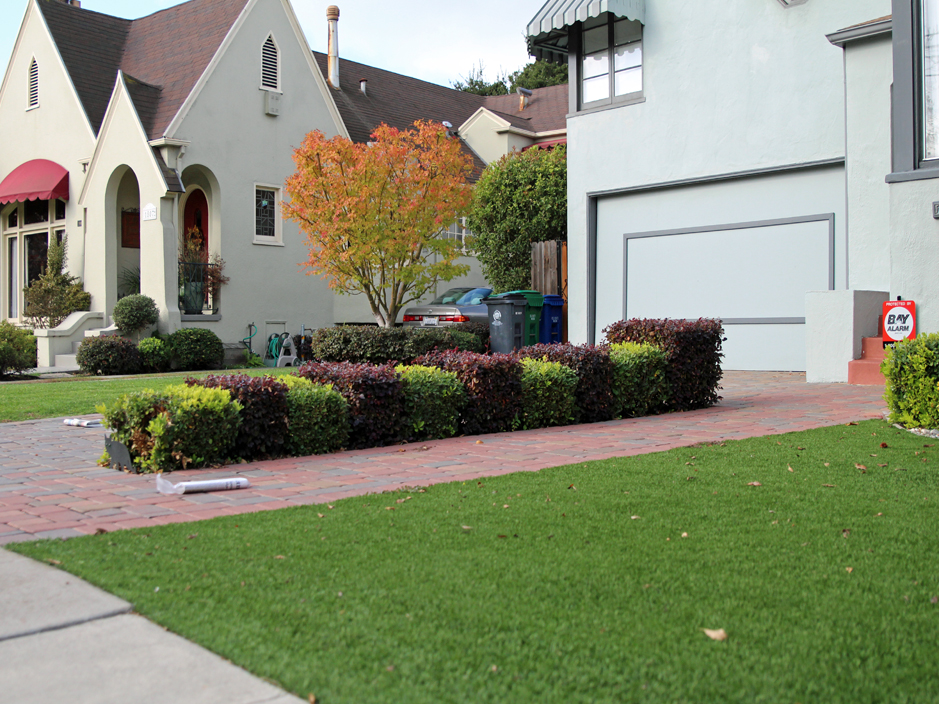 Artificial Grass Helotes Texas Landscape Front Yard