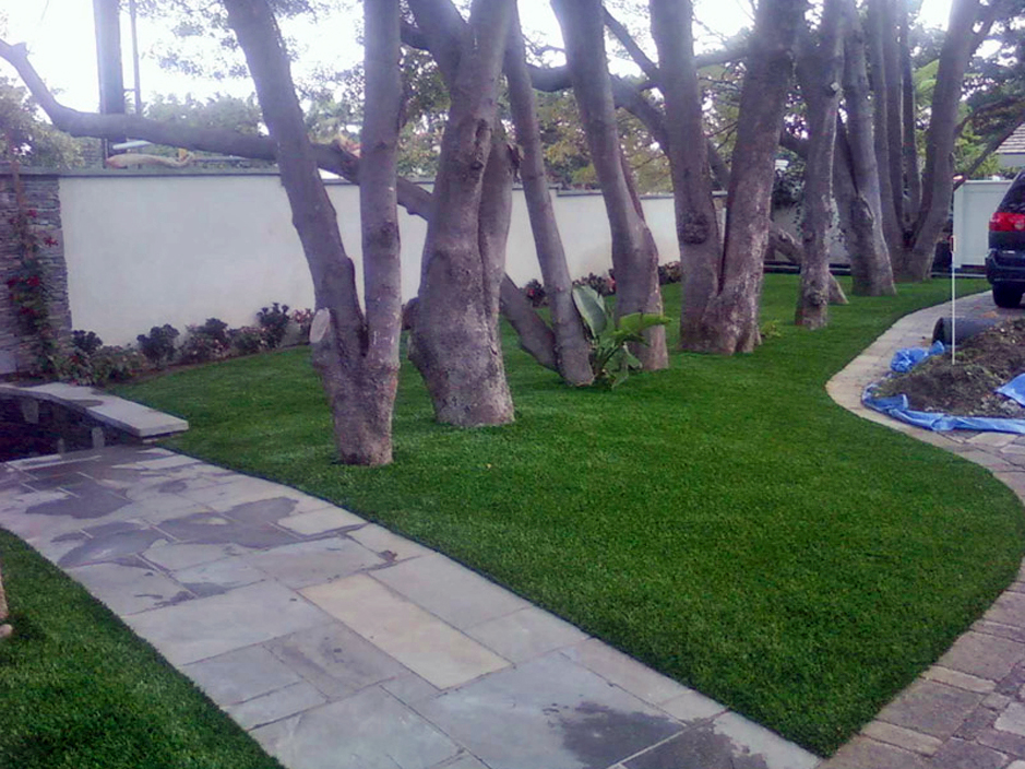 Artificial Grass Stonewall Texas Landscape Front Yard