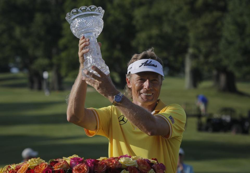 fake-grass Bernhard Langer Triumph at Belmont. Magic Week.