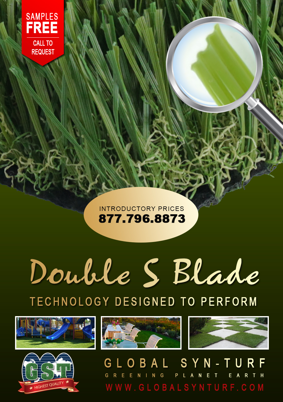 fake-grass Global Syn-Turf Launches Premium Double S Blade Artificial Grass Technology