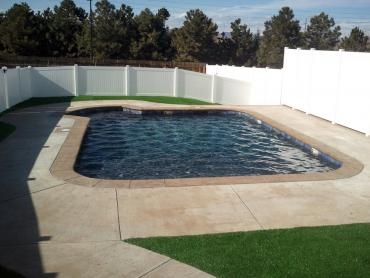 Artificial Grass Photos: Fake Grass Jarrell Texas  Landscape   Summer Pools Back Yard