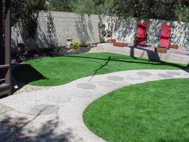 Artificial Grass Photos: Fake Grass Liberty Hill Texas  Landscape  Back Yard