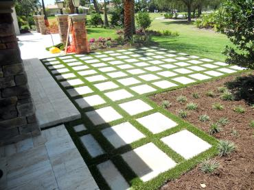 Artificial Grass Photos: Fake Turf Thorndale Texas  Landscape  Pavers Back Yard