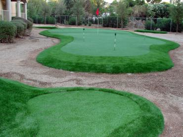 Golf Putting Greens Manor Texas Synthetic Turf  Back Yard artificial grass