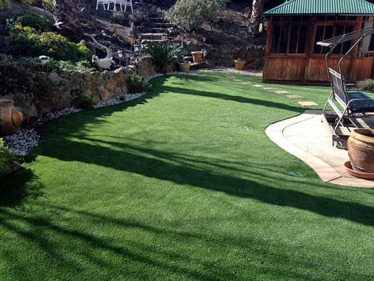 Artificial Grass Photos: Synthetic Grass Bremond Texas Lawn  Pavers Back Yard
