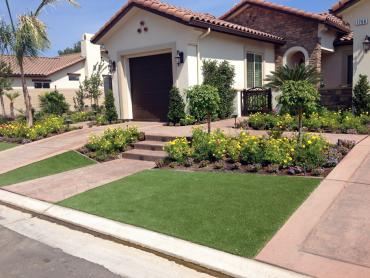 Artificial Grass Photos: Synthetic Grass Moulton Texas Lawn  Front Yard