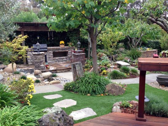 Artificial Grass Photos: Synthetic Grass Shiner Texas  Landscape  Pavers Back Yard