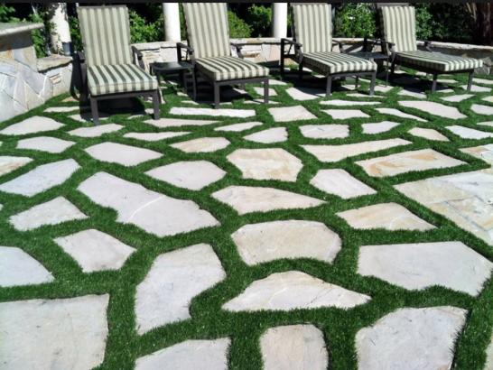 Artificial Grass Photos: Synthetic Turf Hearne Texas Lawn  Pavers Back Yard