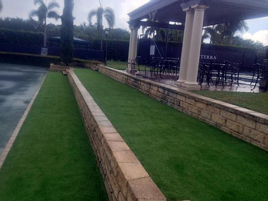 Artificial Grass Photos: Synthetic Turf Smiley Texas Lawn  Commercial Landscape