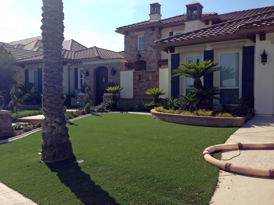 Synthetic Grass Kyle Texas Landscape Front Yard