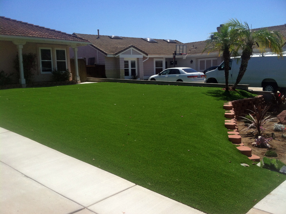 Synthetic Turf Camp Swift Texas Landscape Front Yard