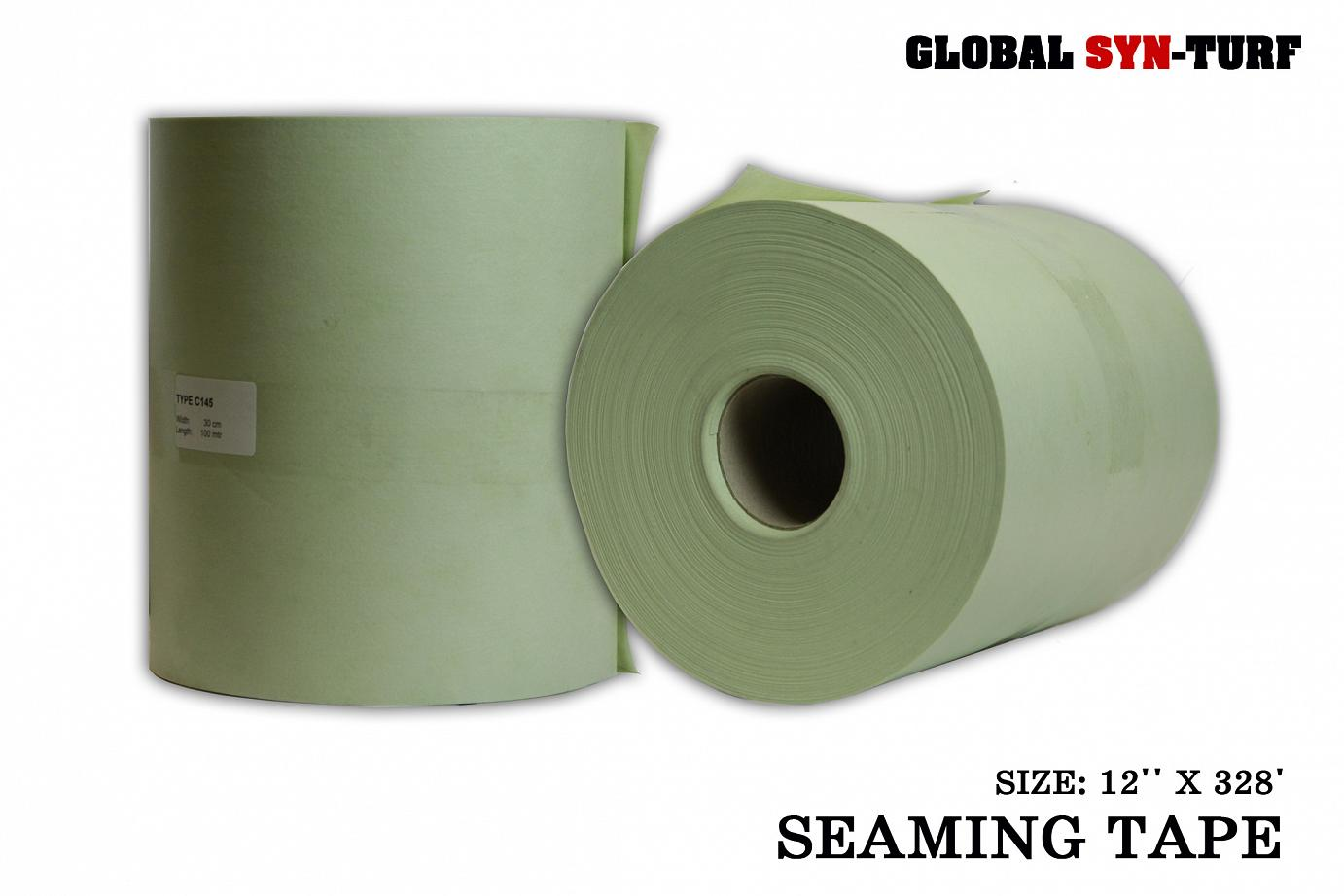 Seaming Tape to Glue Edges of Artificial Grass