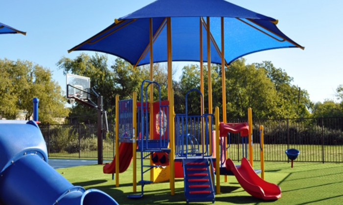 Artificial Grass for Playgrounds in Austin